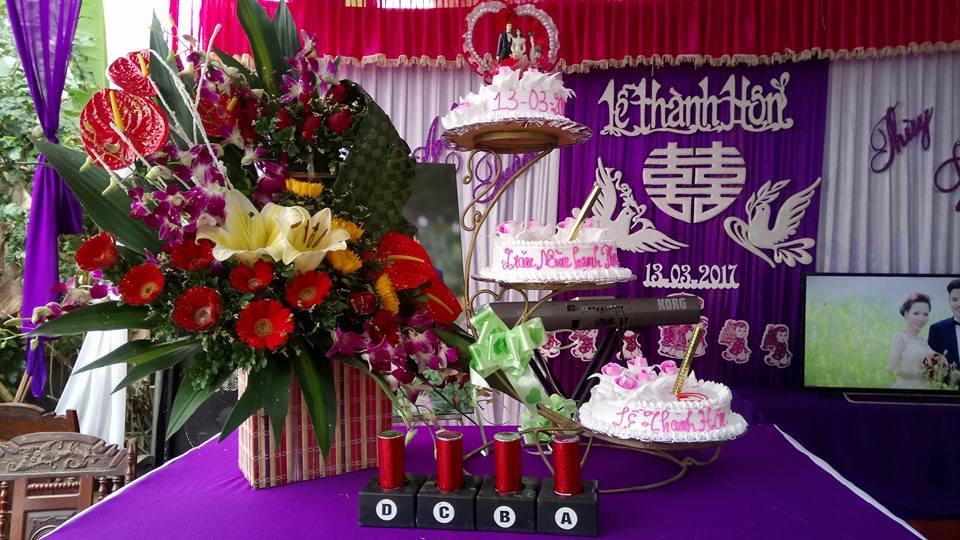 Minh Vũ nhà cho thuê loa đài đám cưới giá rẻ tại Hà Nội