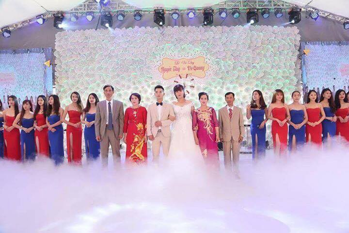 Cho thuê máy tạo khói lạnh 4000w Phục vụ lễ cưới lại Hà Nội